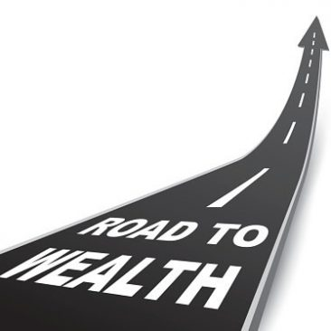Road-wealth